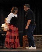 Man of La Mancha rehearsal, 2005