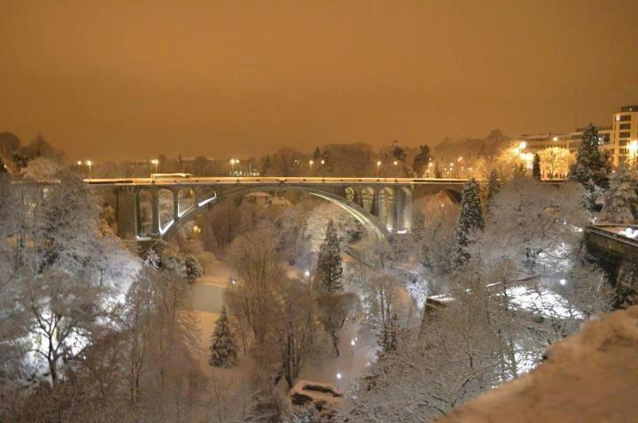 Luxembourg Winter Wonderland by Mara Muniz